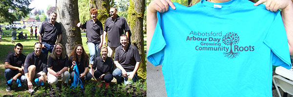 lafarge staff abbotsford arbor day