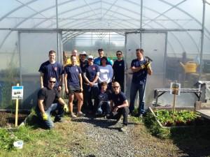 Aggregates help out Sharing Farm in Richmond