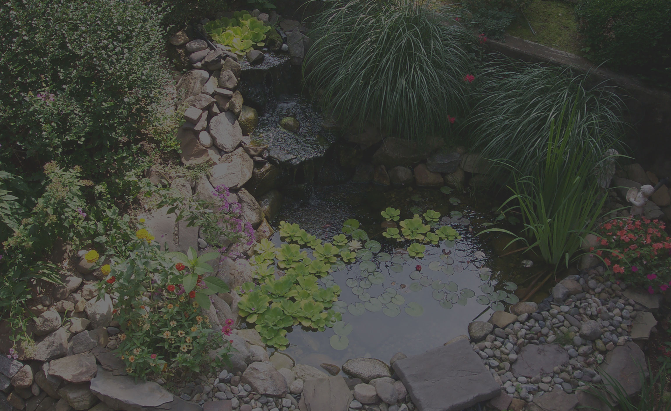 Lafarge home delivery stone and gravel garden pond for Garden pond gravel